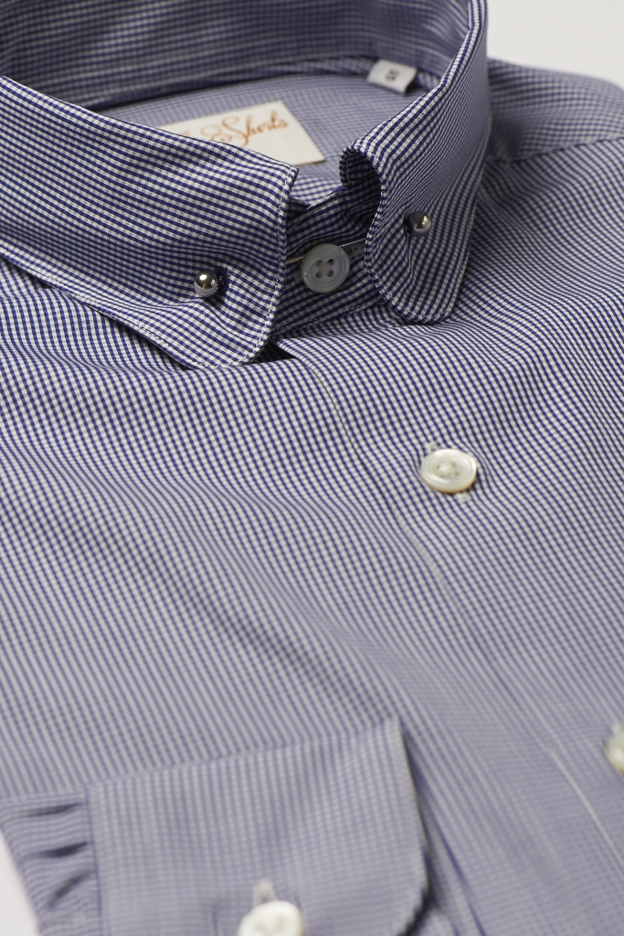 Hawkins & Shepherd Pin Collar Shirt