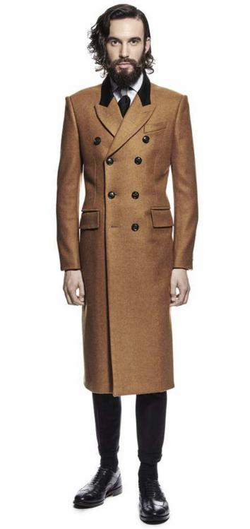 Joshua Kane Camel Coat