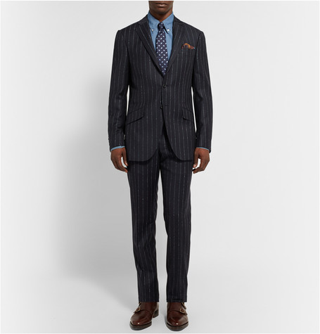 Richard James Pinstripe Suit