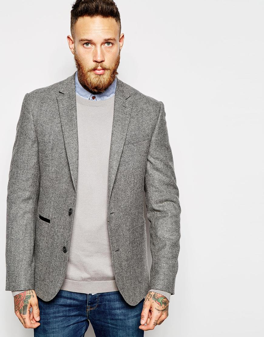 ASOS Grey Blazer