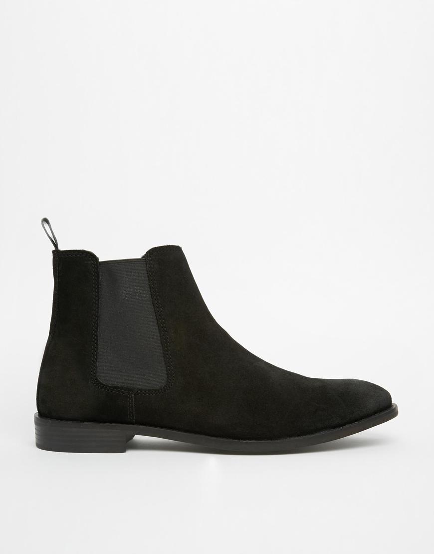 Black Chelsea Boots