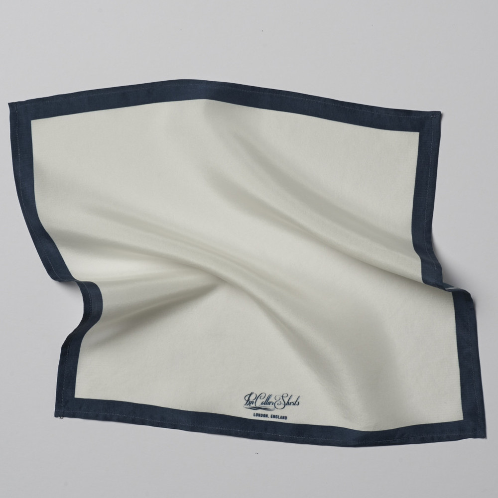 White Pocket Square