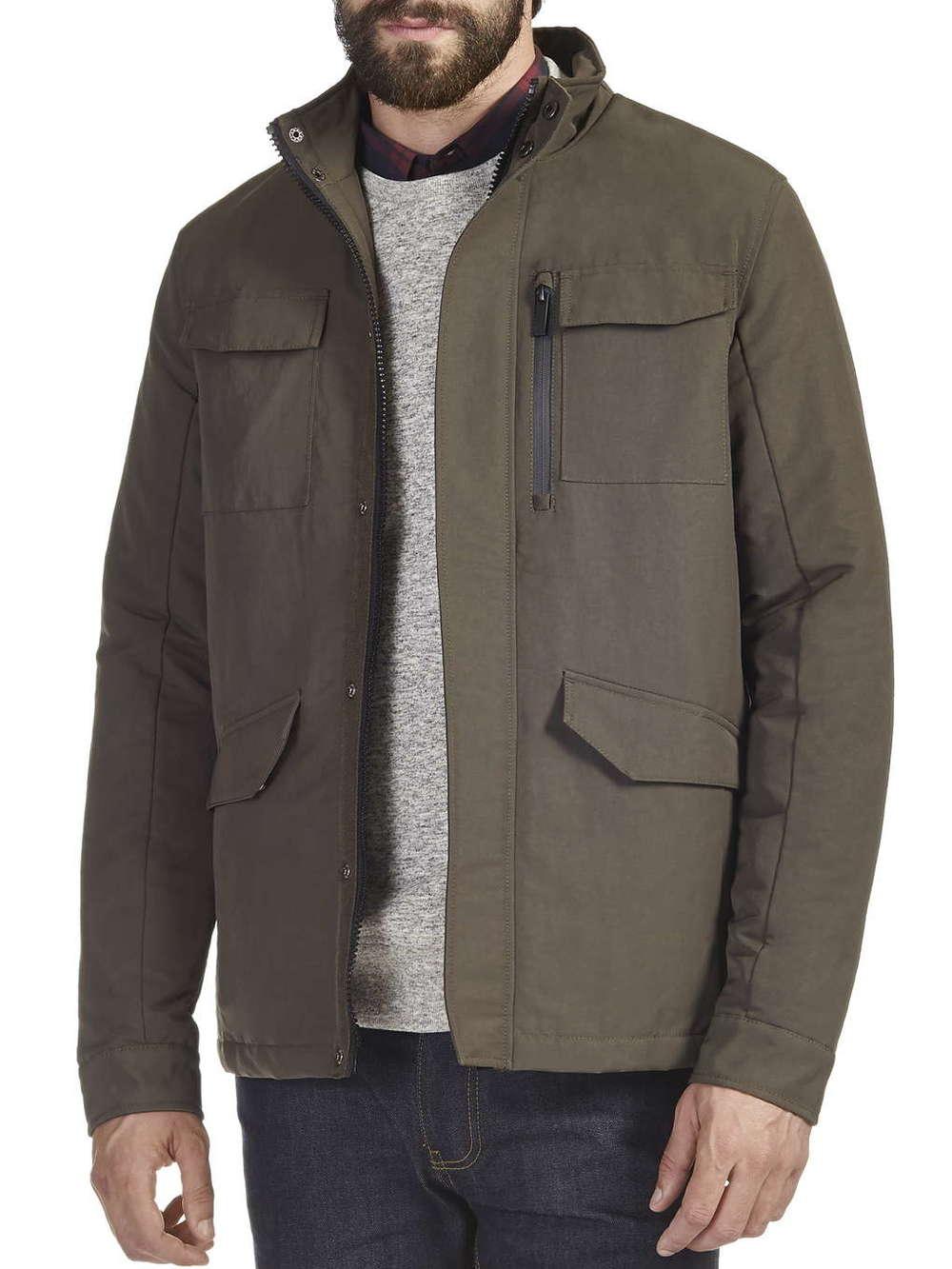 Khaki Military Jacket