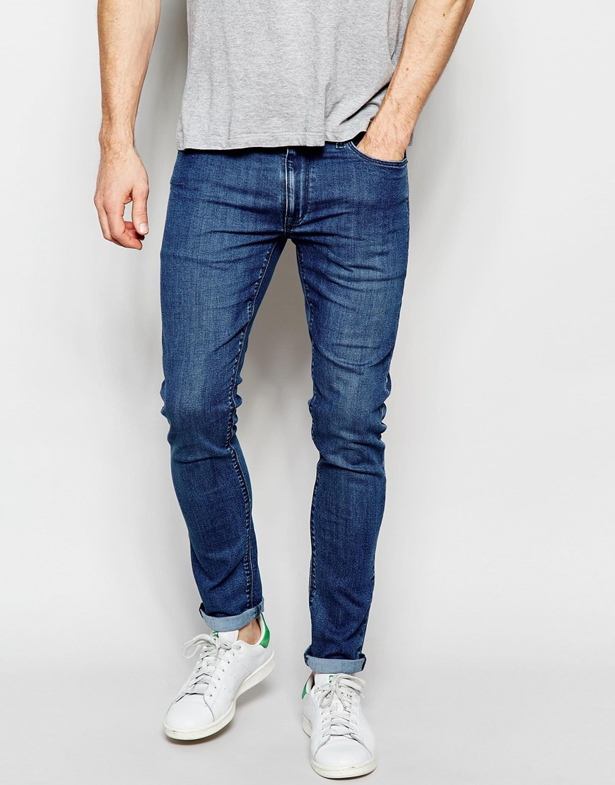 Mid-Wash Jeans