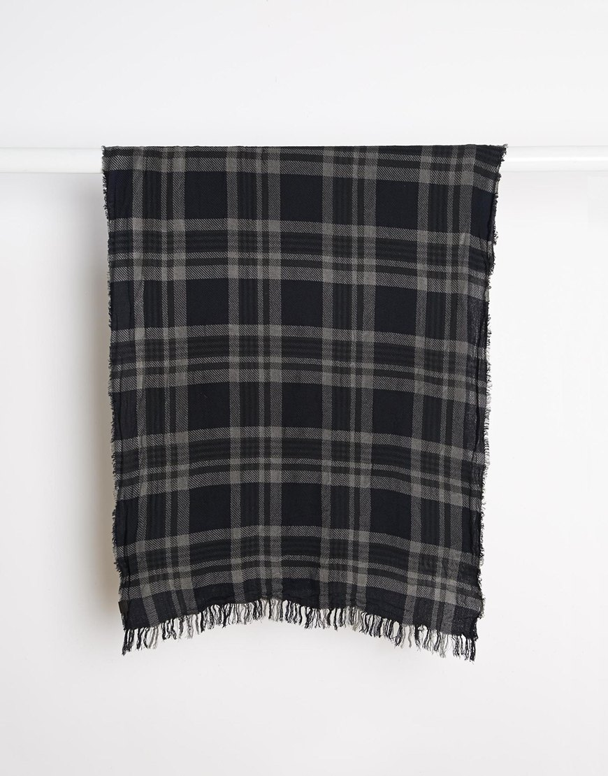 Men's Check Scarf