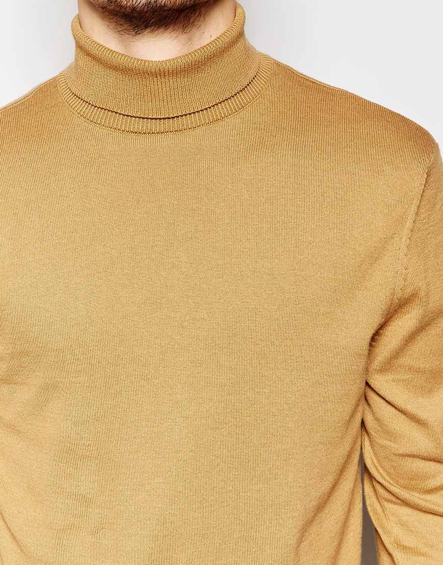 Camel Roll Neck