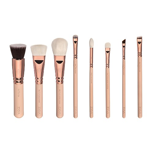 Copper Makeup Brushes