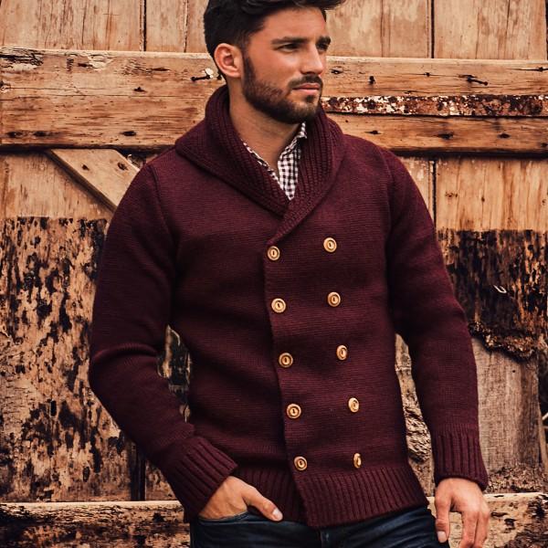 Ross Barr Knitwear Claret