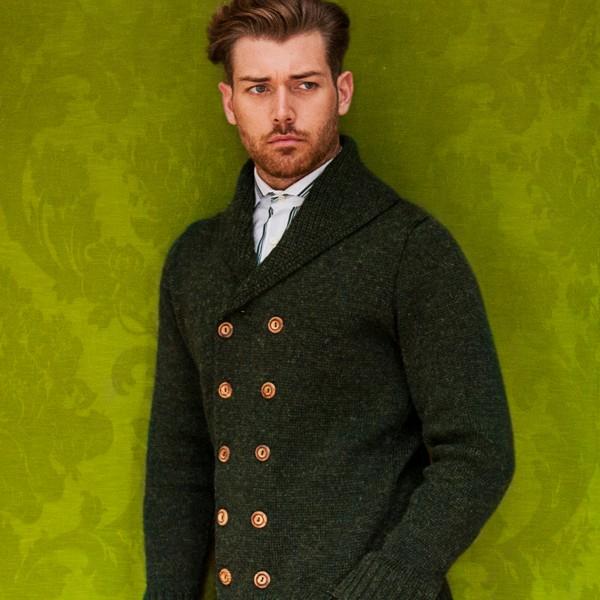 Ross Barr Knitwear Green