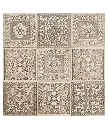 Antiqued Silver Tiles