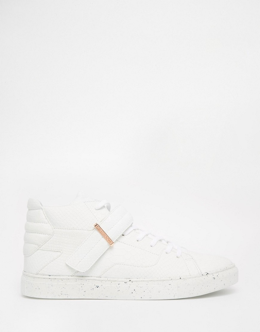 Cayler & Sons White Copper Trainers