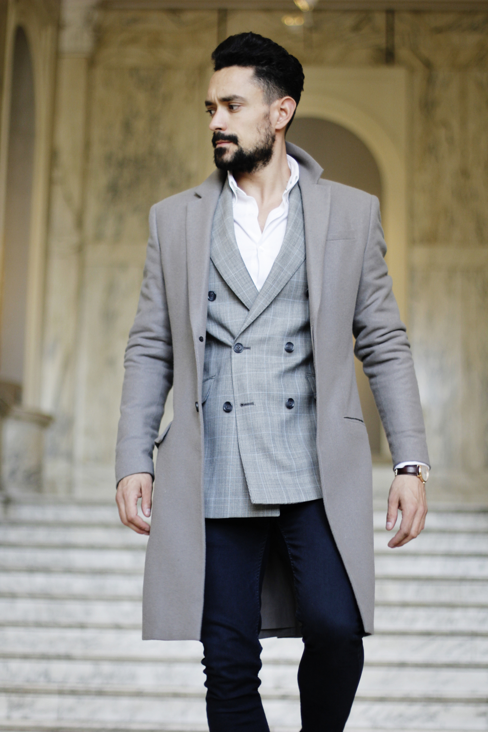 a036c91d6060 ONE JACKET STYLED TWO WAYS - SMART FORMAL — MEN S STYLE BLOG