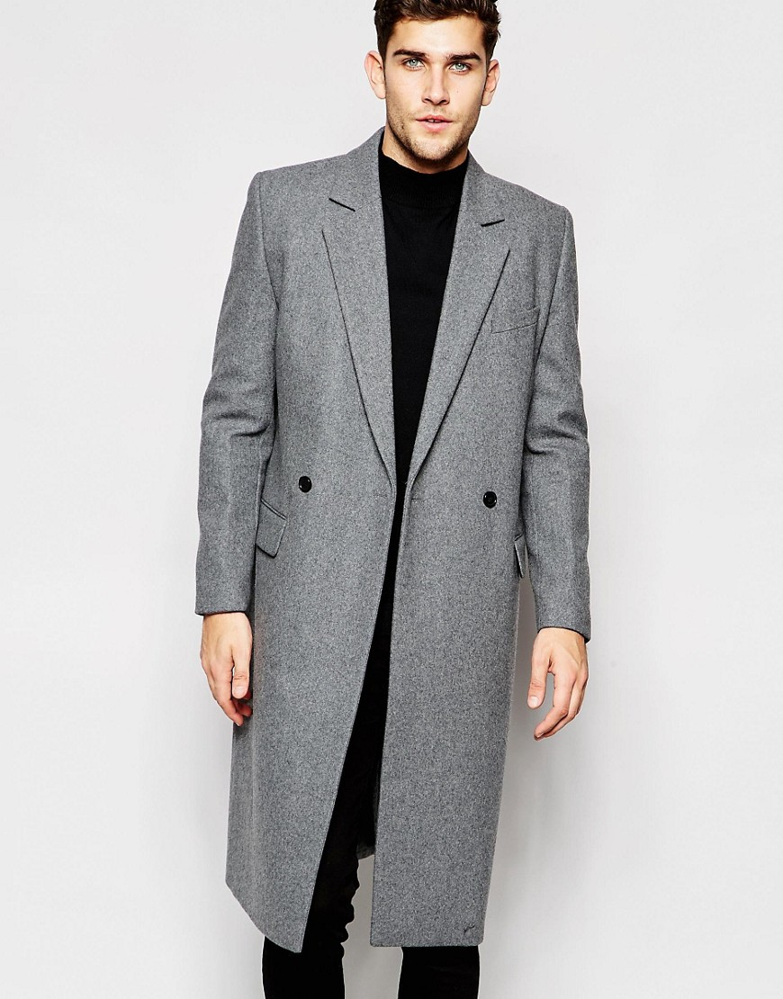 ASOS Grey Overcoat