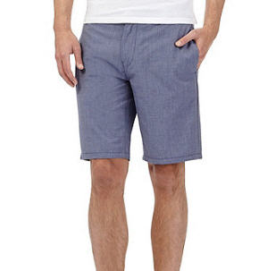 Blue Light Cotton Shorts