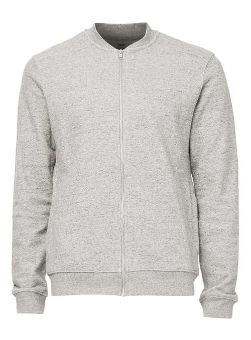 Topman Grey Bomber Jacket