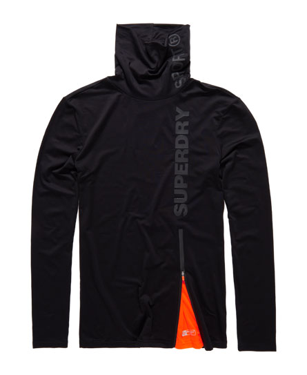 Superdry Sport Funnel Neck Top