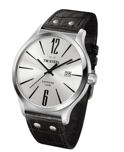 TWSteel Black Slimline Watch
