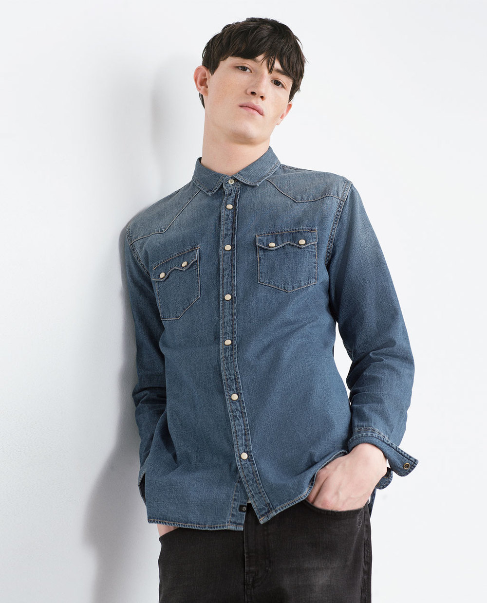 Zara Denim Shirt