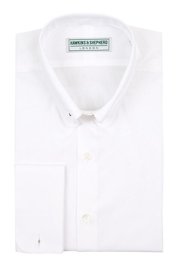 White Shirt with Pin bar