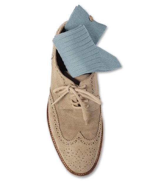 Sky Blue Socks