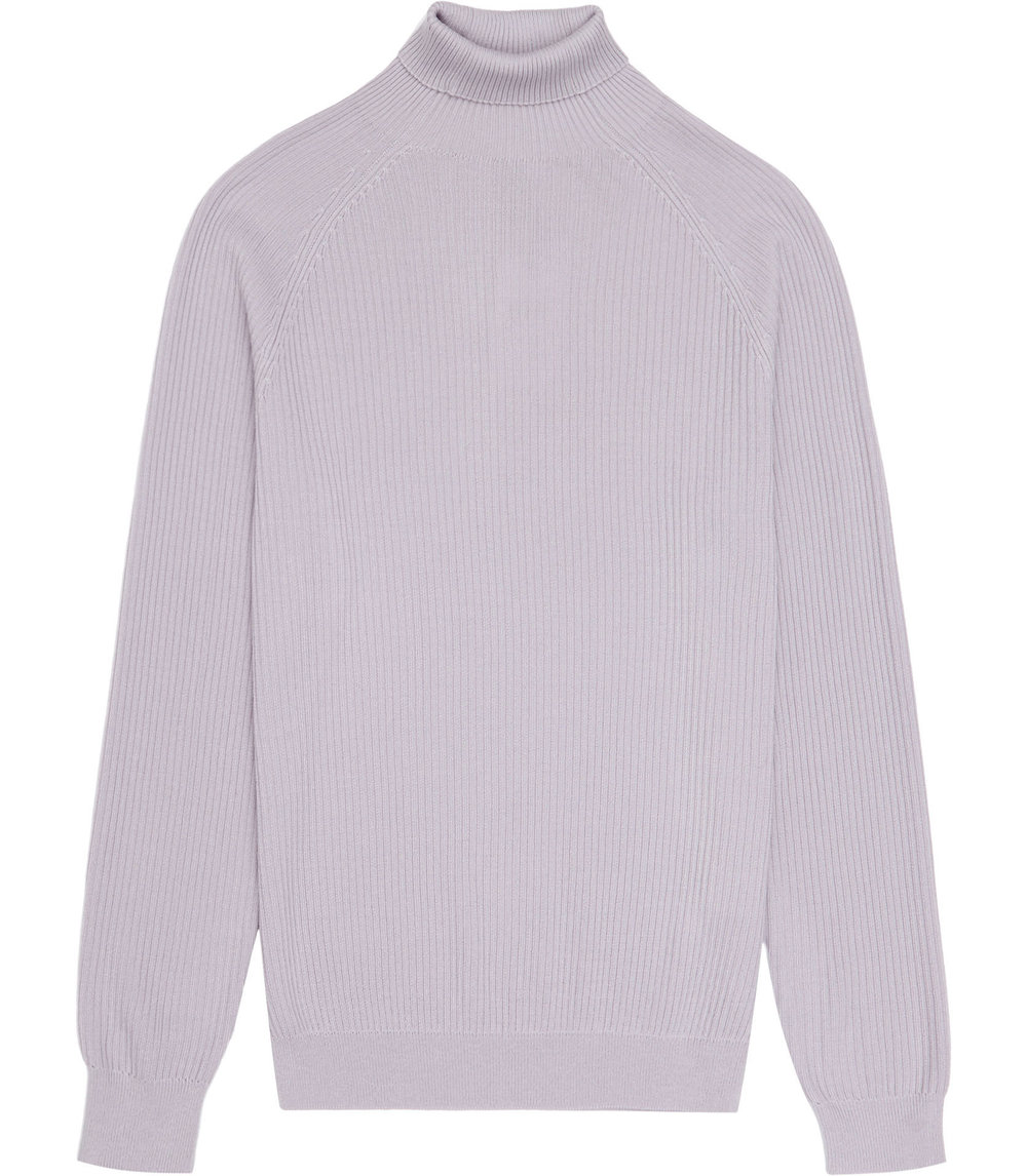 Light Pink Roll-neck Jumper