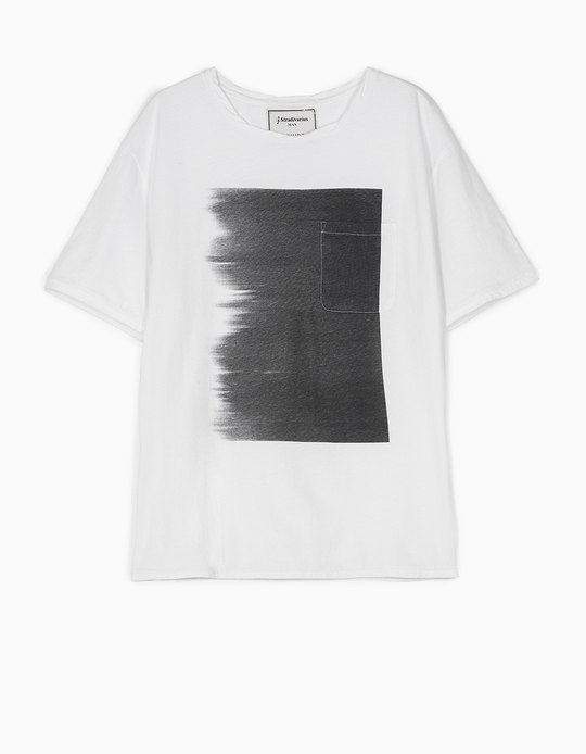 SHADED PRINT T-SHIRT