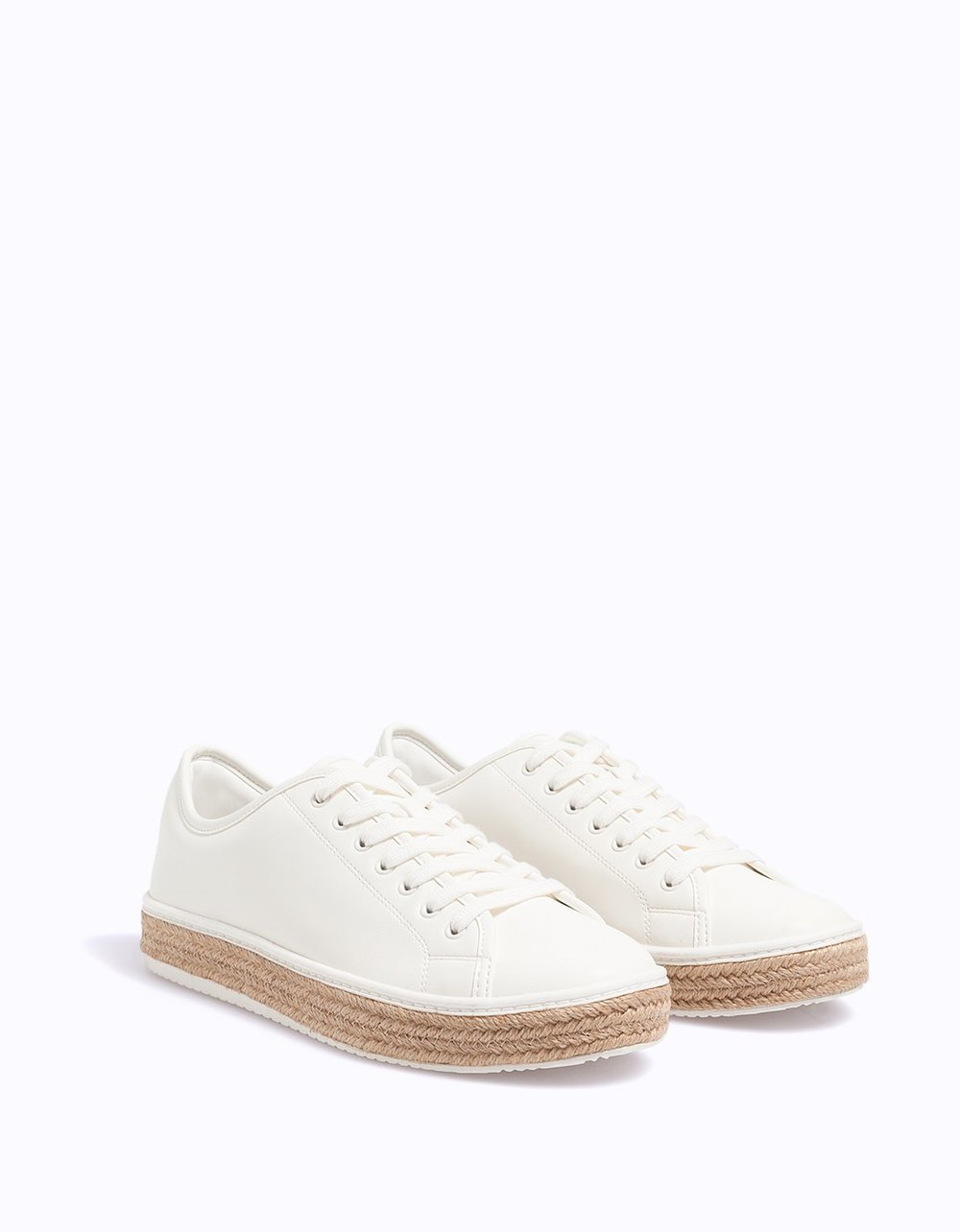 Stradivarius White Sneakers