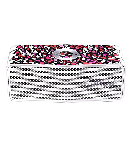 LG x JonOne graffiti Bluetooth speaker