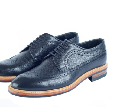 Men's Black Brogues