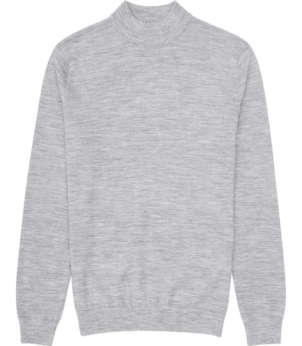 Reiss Grey Knitwear