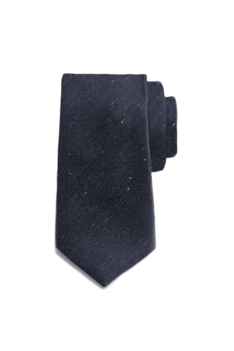 Navy Speckled Tie