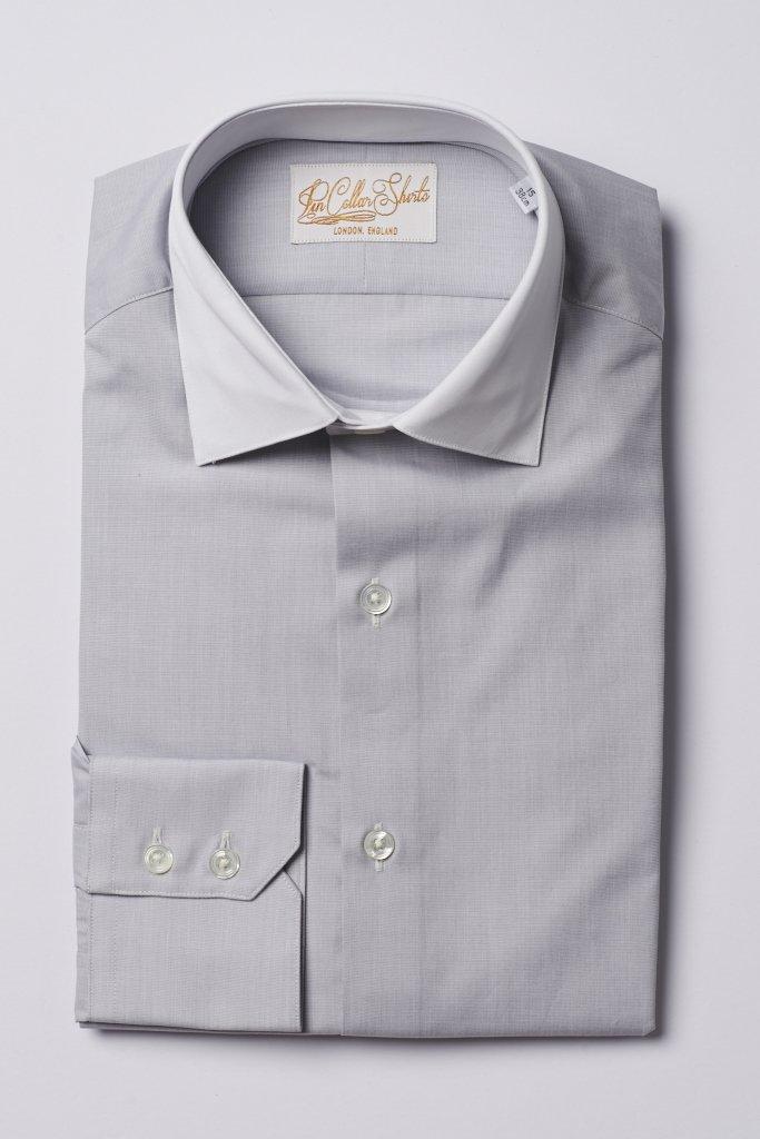 Hawkins & Shepherd Grey Formal Shirt