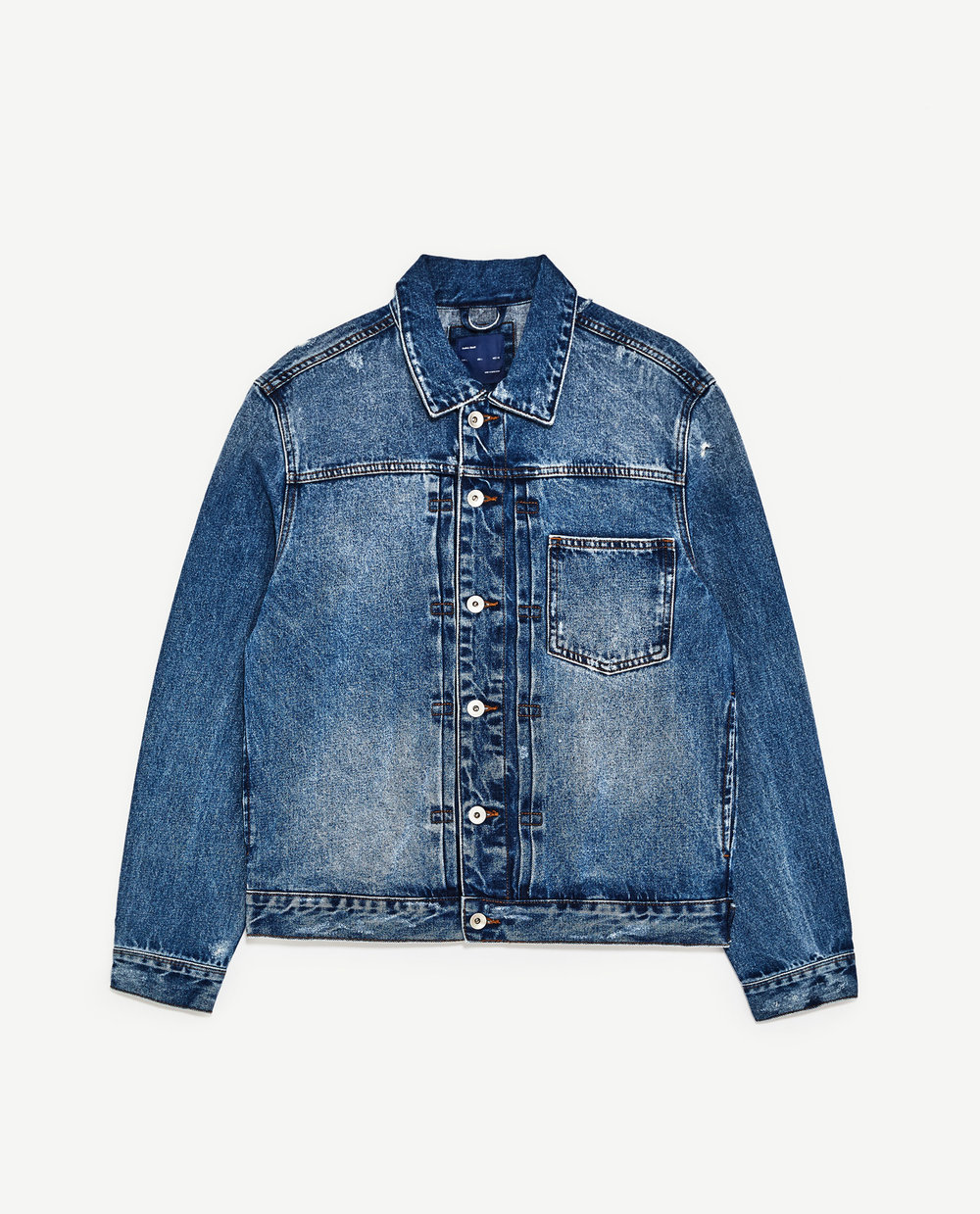 Zara Denim Jacket for Men