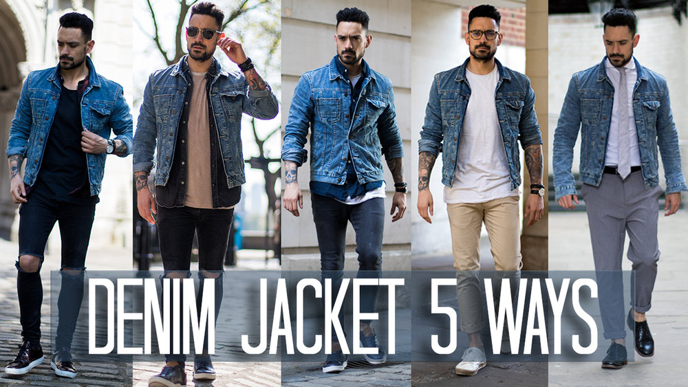 How to wear a denim jacket 5 ways