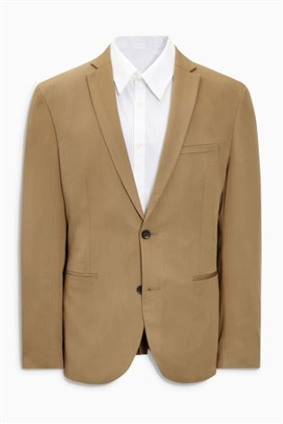 NEXT Tan Suit Jacket