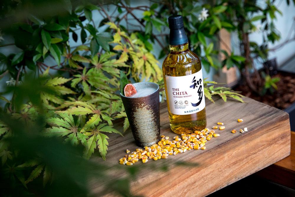 Chita Cooler, Suntory Chita Single Grain Whisky, mango, yuzu, basil, lime foam (£13.90)