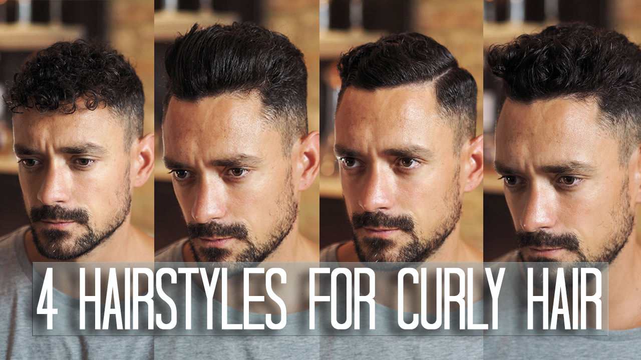 4 Men S Hairstyles For Curly Or Wavy Hair Men S Style Blog