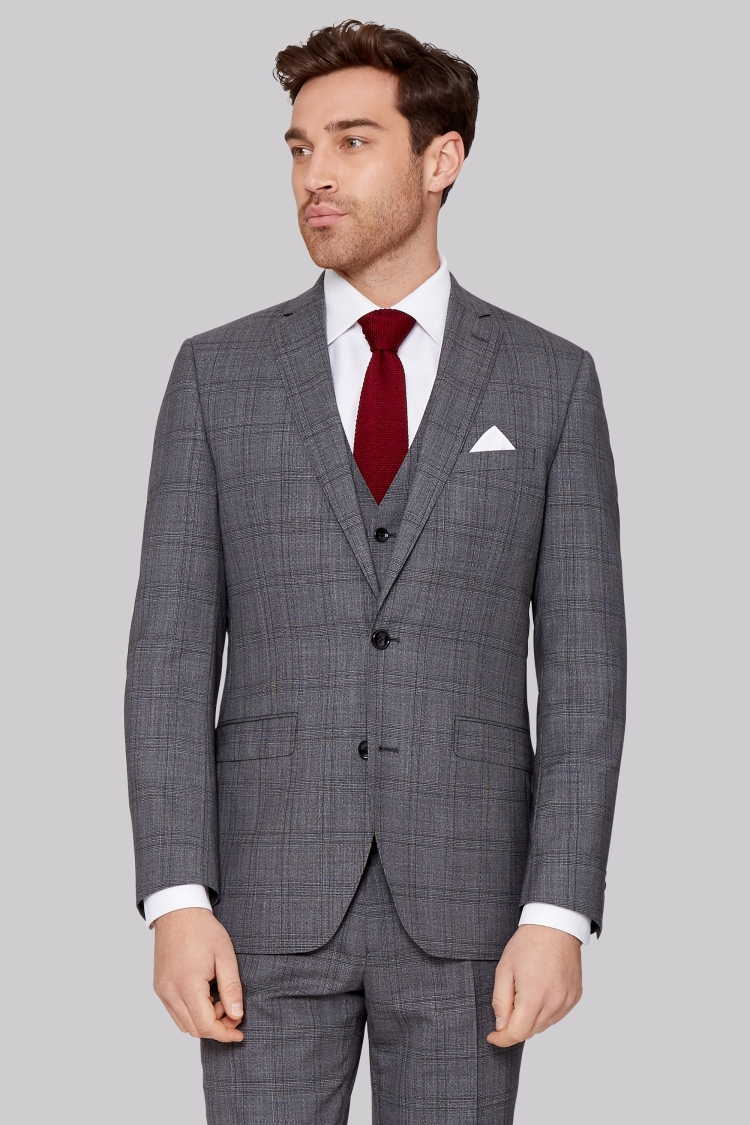 Moss Bros Grey Suit