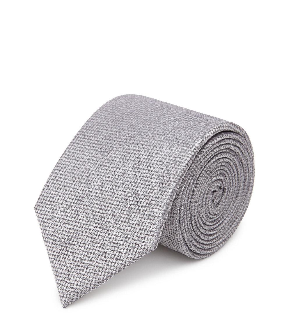 Silver Grey Tie