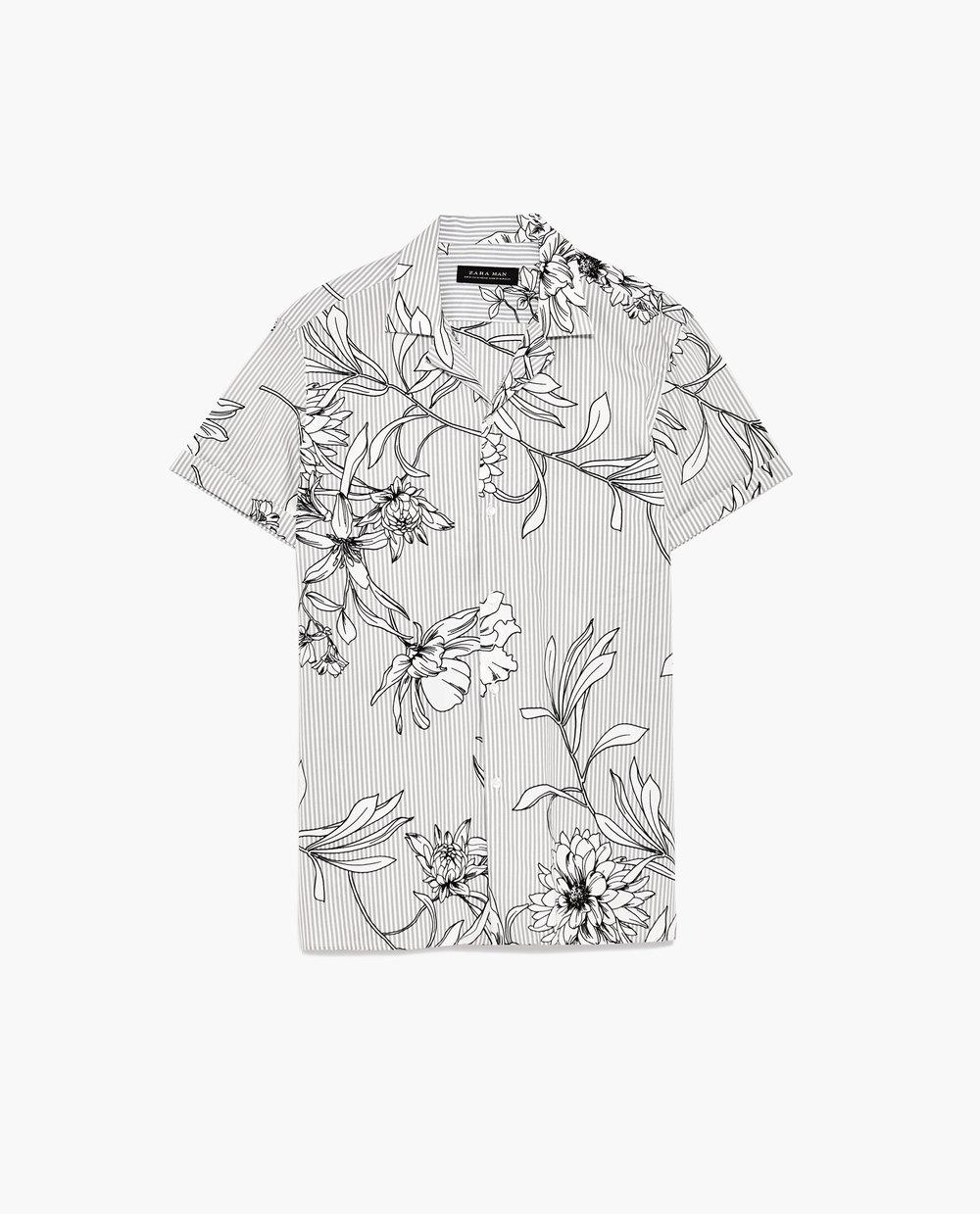 Men's Print Shirt