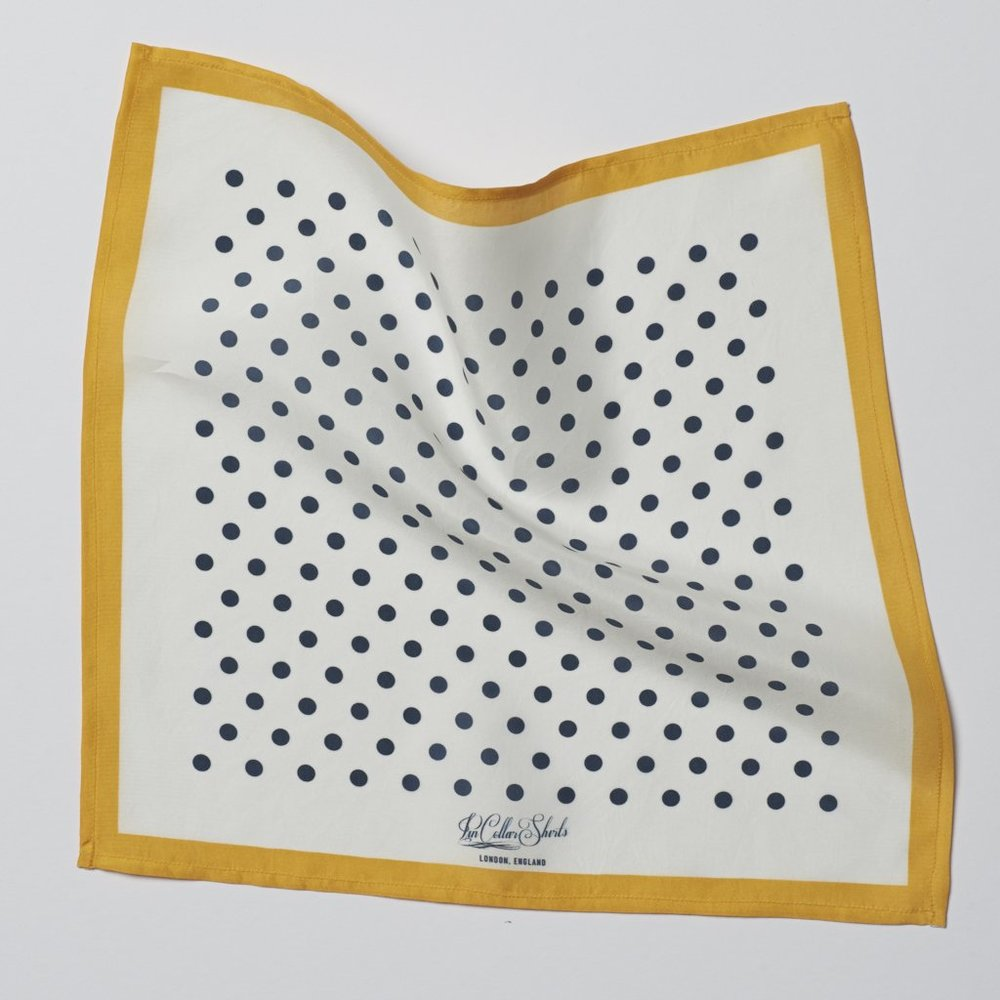 Polka Pocket Square