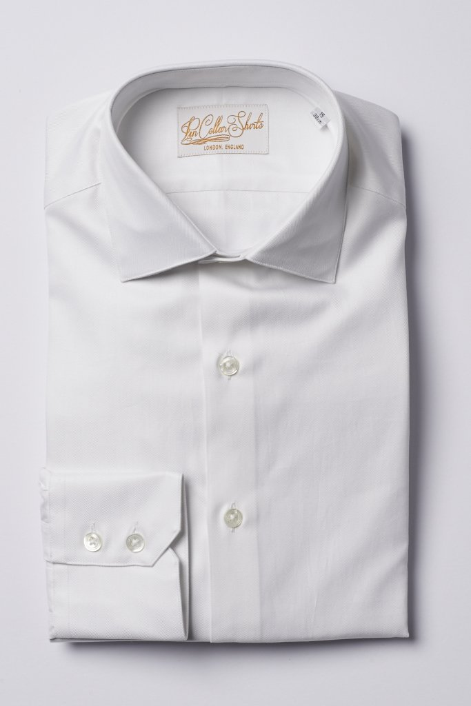 White Cutaway Shirt