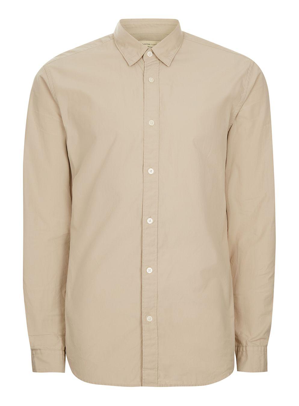 Cream Shirt Topman