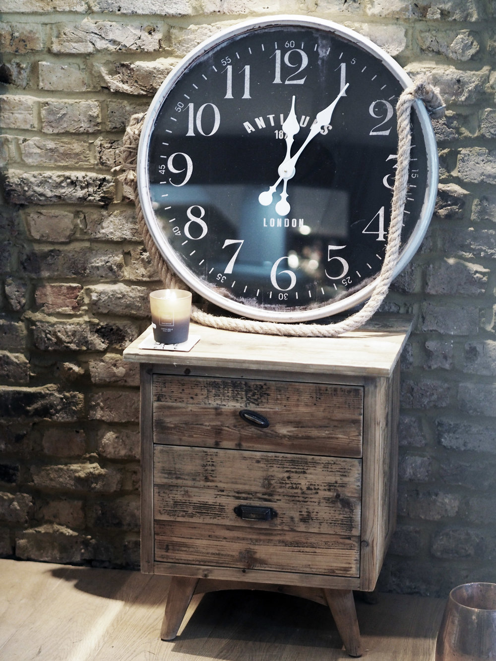 Antique Clock from Homesense