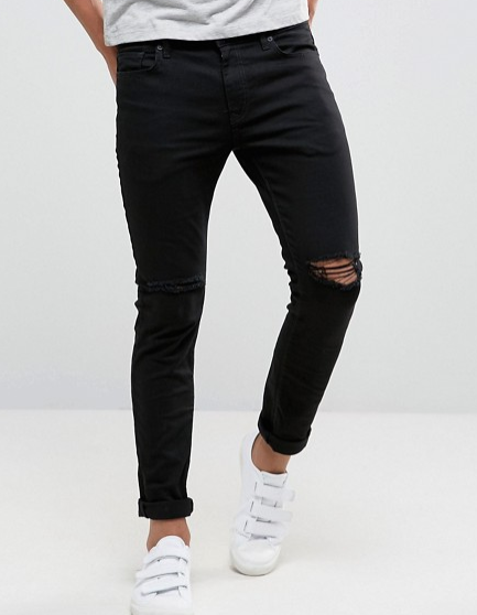 ASOS Skinny Ripped Jeans
