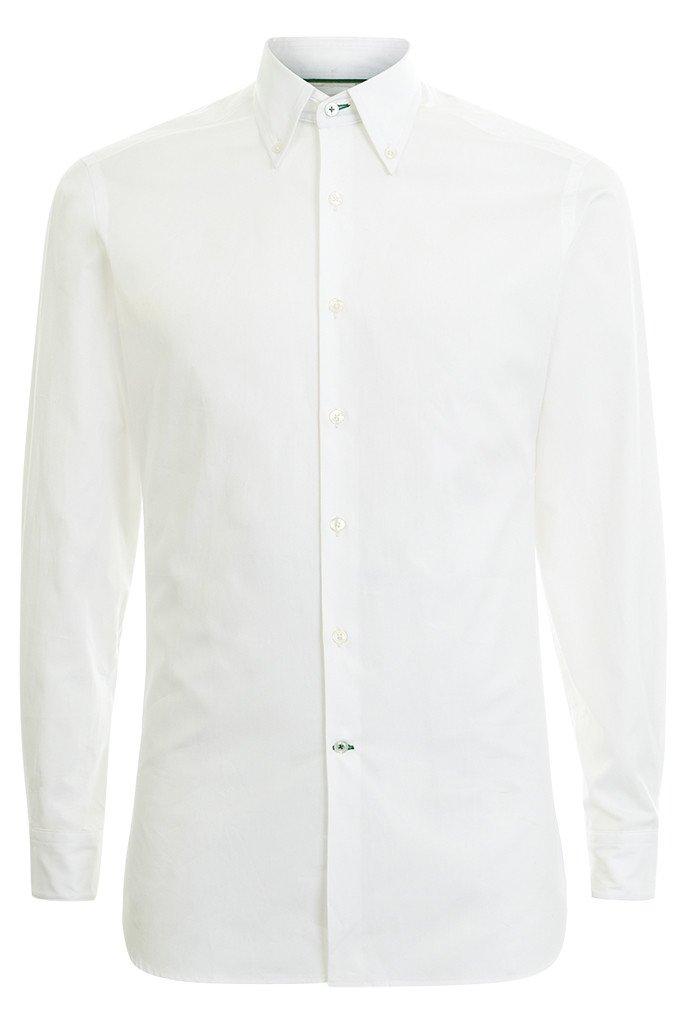 Hawkins & Shepherd Button-Down White Shirt