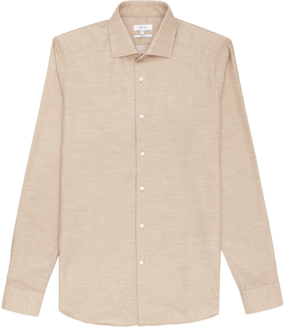 Reiss Camel Shirt