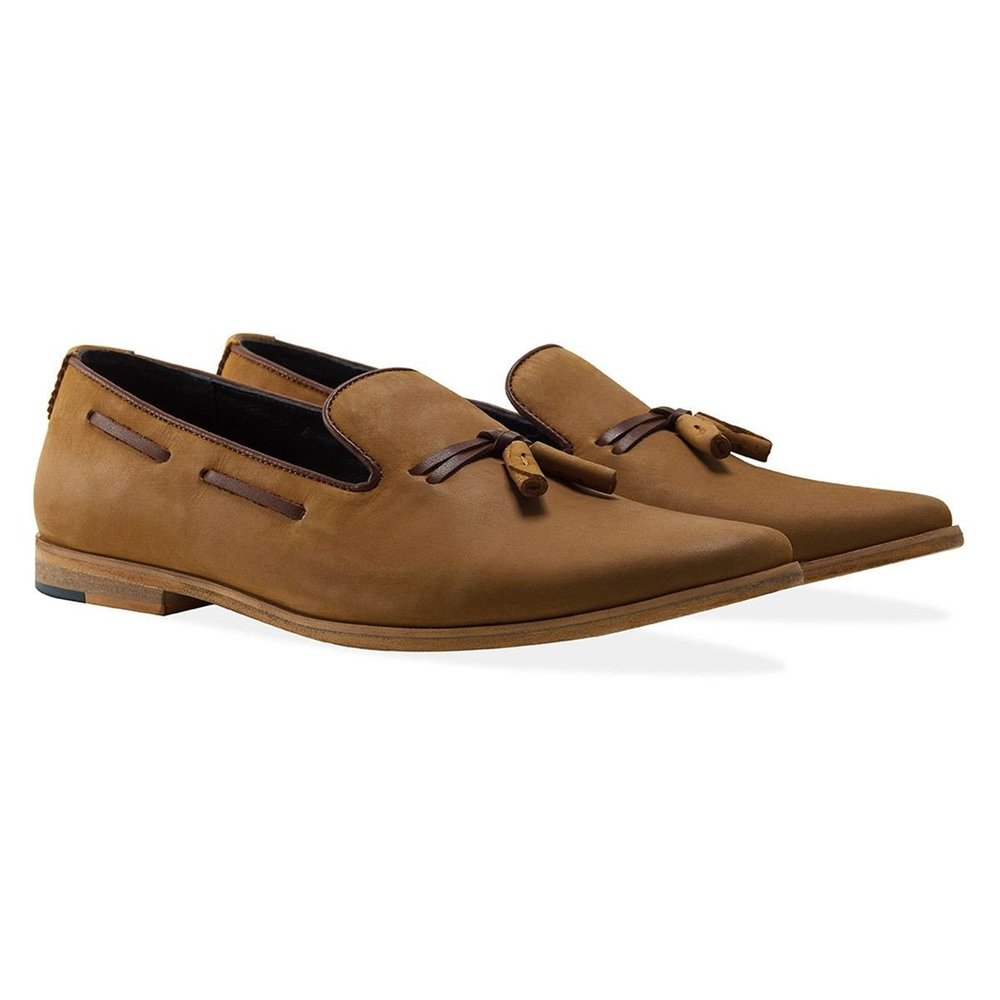 Goodwin Smith Camel Loafers