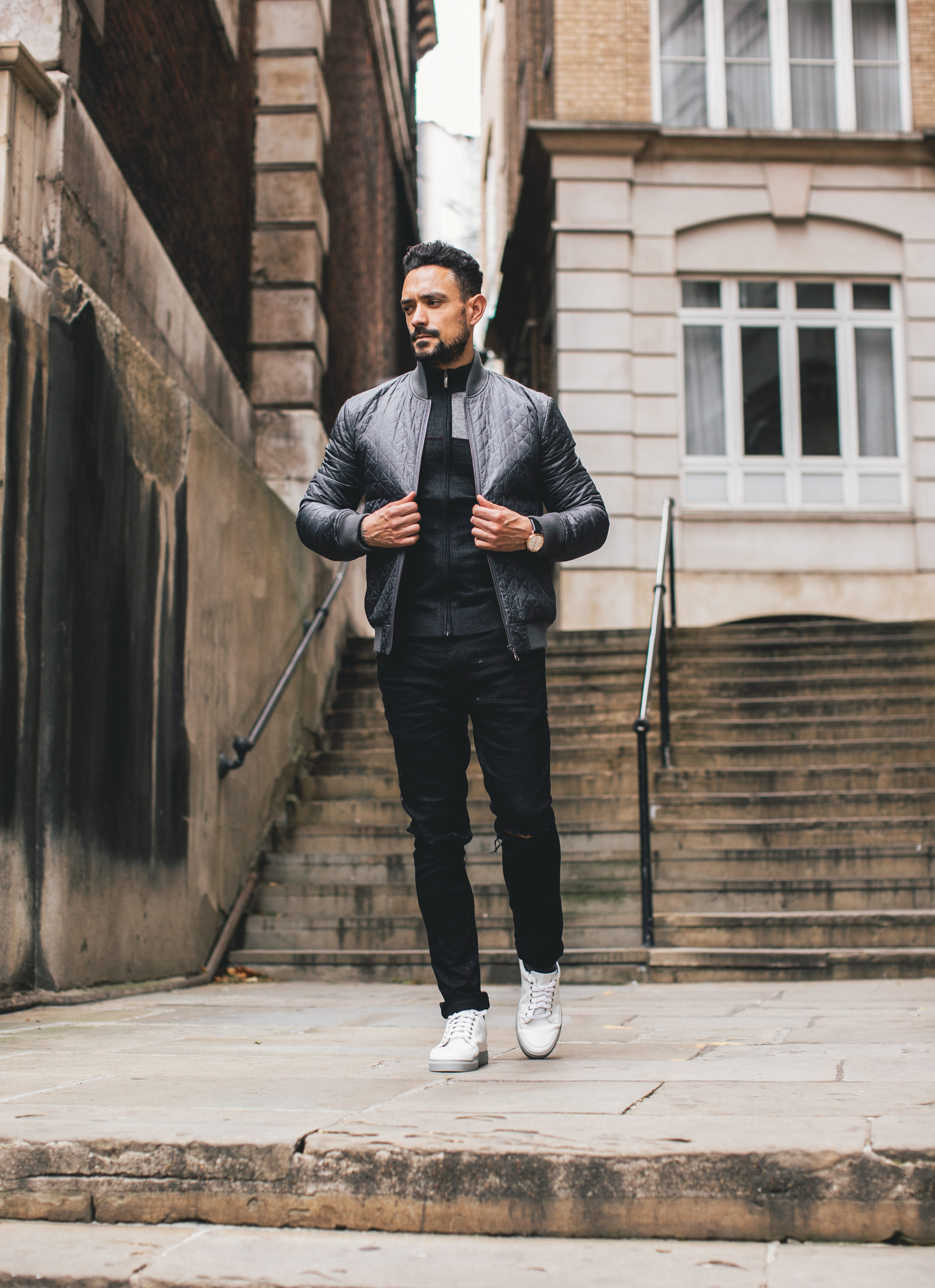 f23814216c Moving on to my casual look from the same brand and collection. With the  need for greater comfort clothing, Remus Uomo have focused on the  sports-luxe trend ...