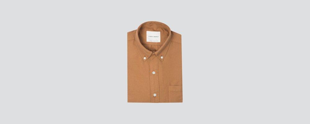 Tabacco Tan Casual Shirt